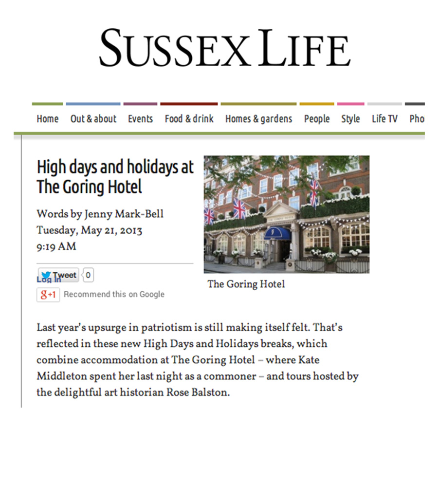 Sussex Life May 2013