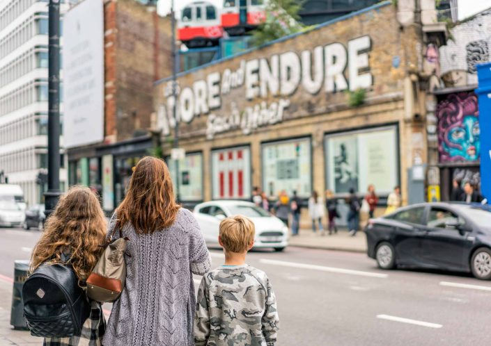 Artscapes themed kids tours, East London