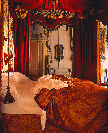 Dennis Severs bedroom, artscapes off the beaten track tour