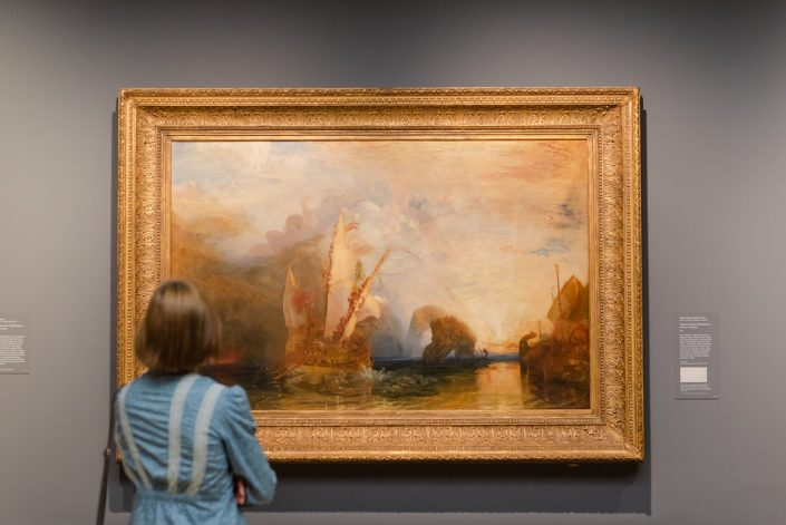 JMW Turner's Ulysses Deriding Polyphemus in the National Gallery.