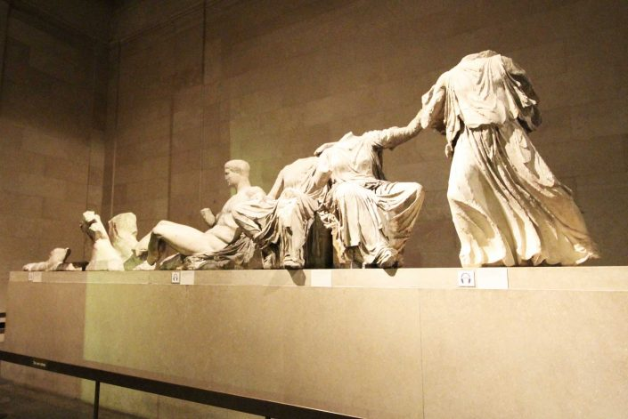 Panthenon marbles, British museum, Artscapes themed kids tours