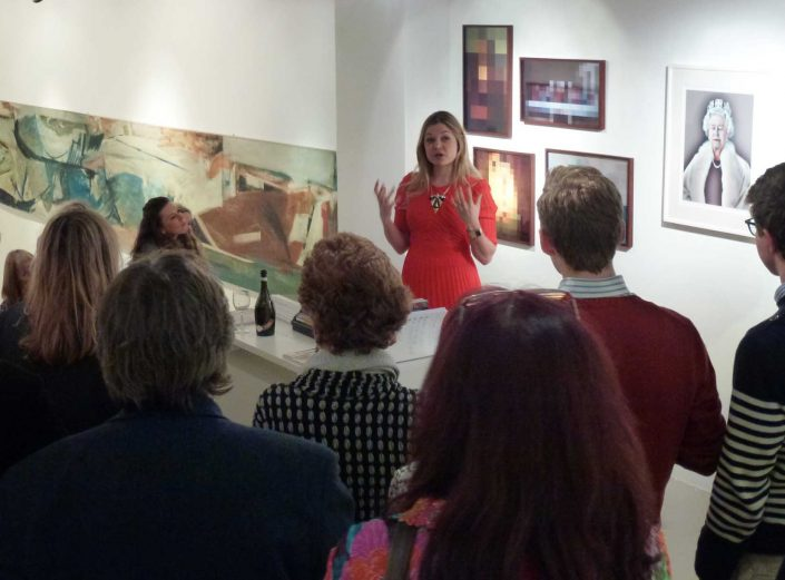 Artscapes guide Kate at London Fine Art Society