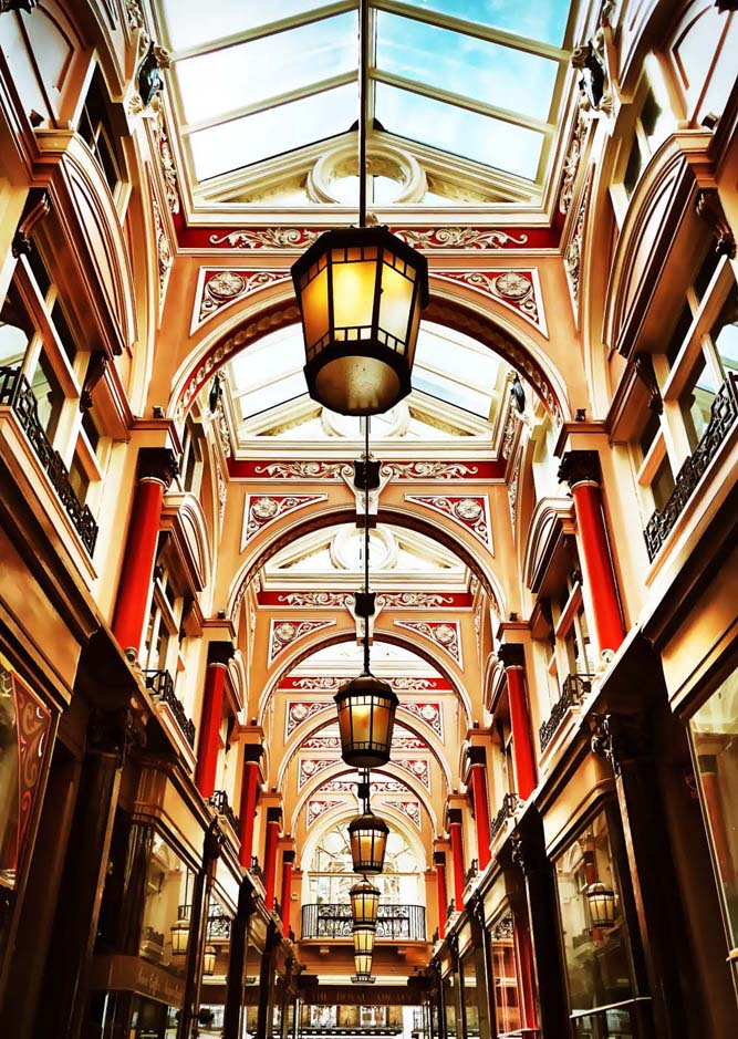 Royal Arcade, Artscapes corporate tours