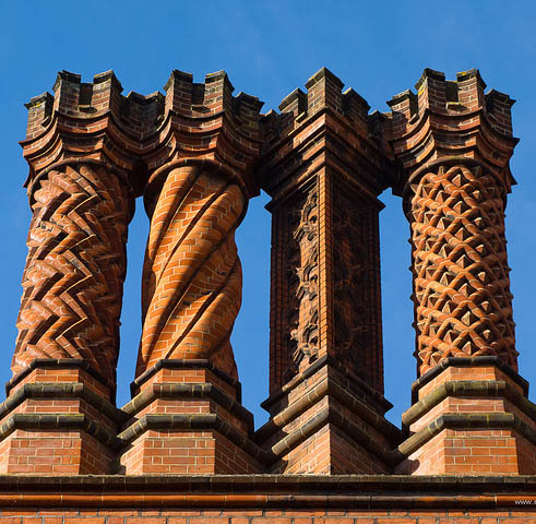 Hampton Court Palace Chimneys, Artscapes out of town tours