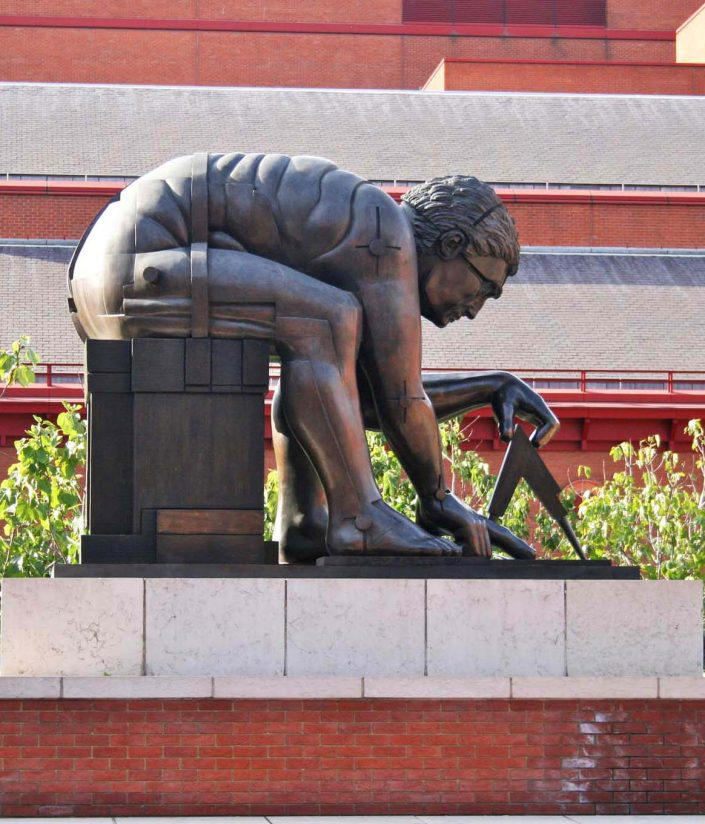 Newton by Paolozzi, artscapes walking tour