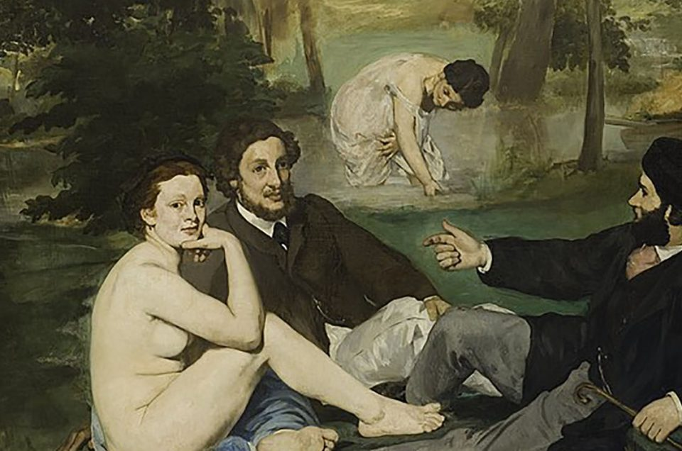 edouard manet luncheon on the grass